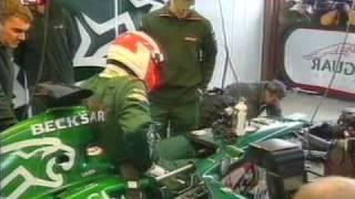 Formula 1 2002 Nikki Lauda Testing Jaguar In Valencia