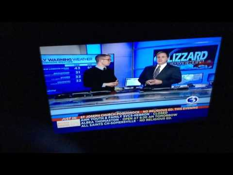 WFSB: Channel 3 Eyewitness News at 4:30pm special edition cold open