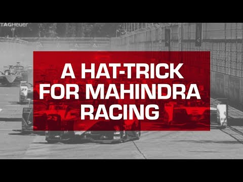 A Hat-Trick of Podiums For Mahindra Racing | Pascal Wehrlein Finishes 2nd | Santiago e-Prix 2019
