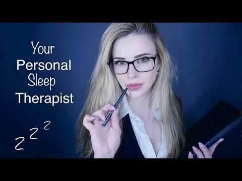 ASMR Your Personal Sleep Therapist ♥