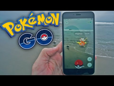 POKEMON EN LA PLAYA! Pokemon GO - [LuzuGames]