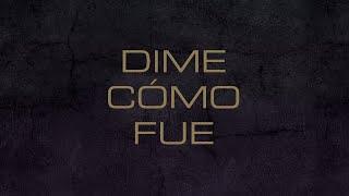 Kudai   Dime Cómo Fue (Lyric Video)