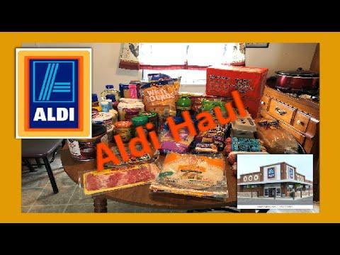 Aldi Haul | Total $87.75