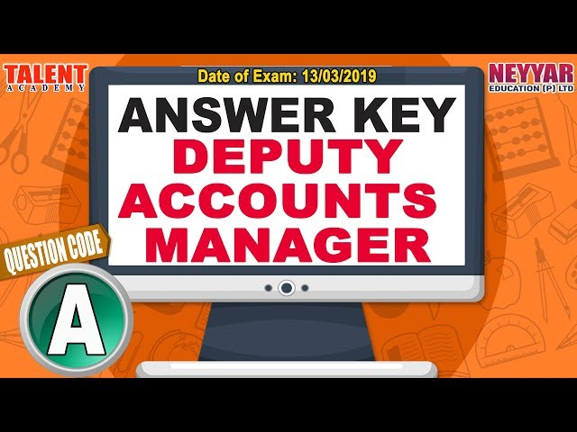 Kerala PSC Today's Exam (13/03/2019) Deputy Accounts Manager GK Questions Answer Key
