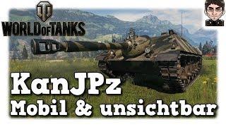 World of Tanks - Kanonenjagdpanzer , mobil & unsichtbar [deutsch | gameplay]