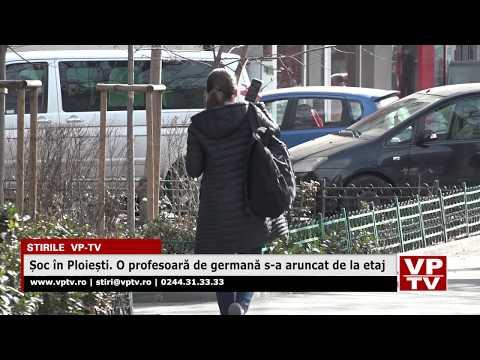 Șoc în Ploiești. O profesoară de germană s-a aruncat de la etaj