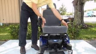 Pronto M91 Blue Basic 6.5 MPH Power Chair 300 lbs Weight Capacity