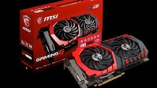 Видеокарта MSI Radeon RX 470 Gaming X 4G