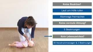 Erste Hilfe am Kind | Wiederbelebung/Reanimation bei Säuglingen und Kindern
