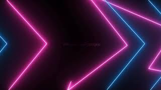 Neon lights background animation video, neon background effect, neon lighting animated template loop