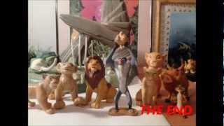 MY lion king figure collection