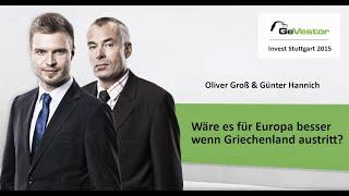 Wäre ein Austritt von Griechenland aus der Euro-Zone gut für Europa?