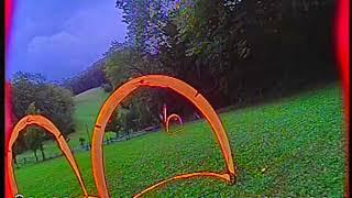 Very close FPV drone racing, 06.09.2020