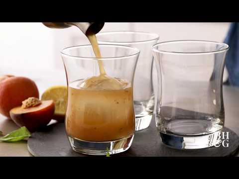 Grilled Peach Whiskey Smash | Eat This Now | Better Homes & Gardens