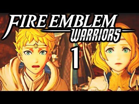 Bananas in Capes! Fire Emblem Warriors Gameplay Walkthrough Part 1