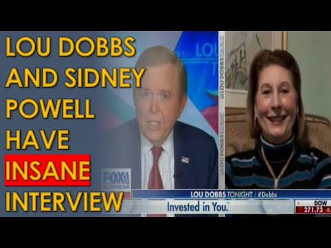 Sidney Powell and Lou Dobbs in Fox Business Interview tell Trump to take DRASTIC ACTION