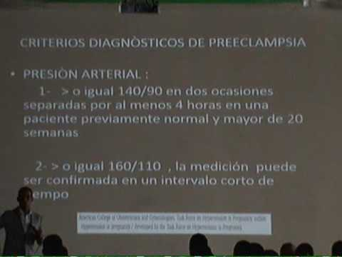 Enfermedad hipertensiva causa síntomas