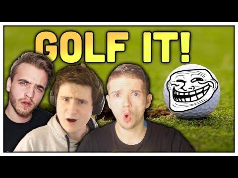 NEJVÍC TROLL MAPA VE HŘE! (Golf It!) /w Artix,Baxtrix