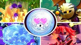 Kirby Star Allies - All Boss Secrets & Easter Eggs