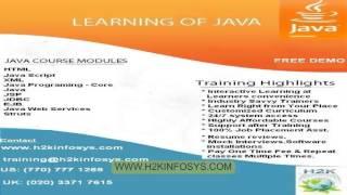 Video J2ee - créer une application web avec NetBeans