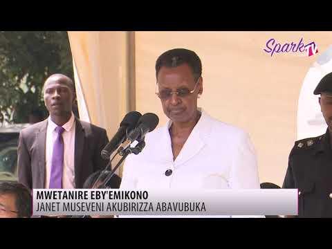 Janet Museveni akubirizza abavubuka okwetanira ennyo emisomo gy'emikono