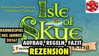 Isle of Skye: Aufbau, Regeln, Fazit - Brettspiel im Test auf deutsch - Kennerspiel des Jahres 2016