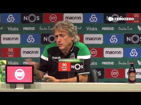 Jorge Jesus analisa a equipa leonina