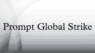 Prompt global strike advanced hypersonic weapon