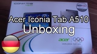 Acer Iconia Tab A510 Unboxing und Kurztest