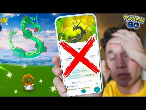 Pokémon GO, Rayquaza Shiny will not be present in the Weekend Raid