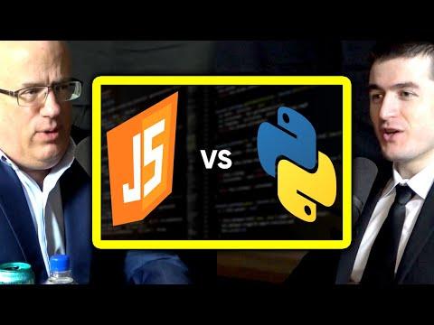 Should beginners learn Python or JavaScript? | Brendan Eich and Lex Fridman