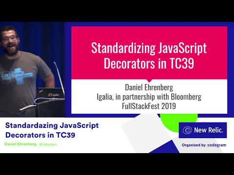Standardizing JavaScript Decorators in TC39