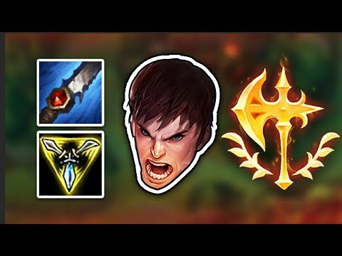 i try the new garen but instead of top lane, i play it jungle