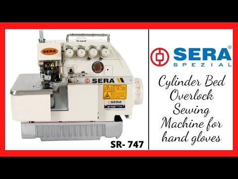 Overlock Machine For Stitching Hand Gloves