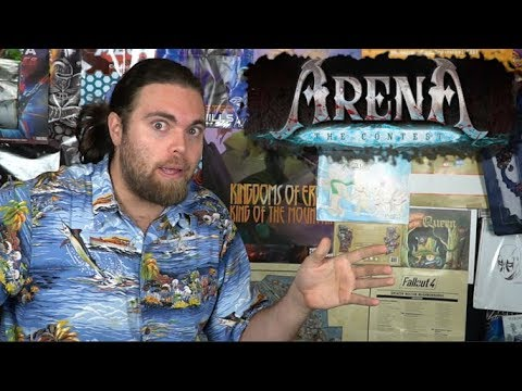 Arena the Contest - Board Game Review