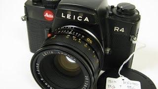 2014 初売り特売-3 ・ライカ用ズミクロン50/2+ライカR4