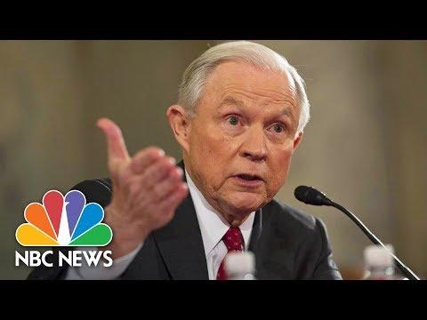 Attorney General Jeff Sessions Testifies Before Senate Intelligence Committee (Full)   NBC News