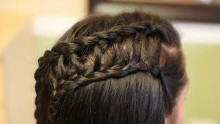 Ladder Braid Hair Tutorial