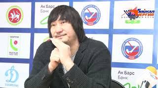 Пресс-конференция А. Рушкина и И. Хандаева