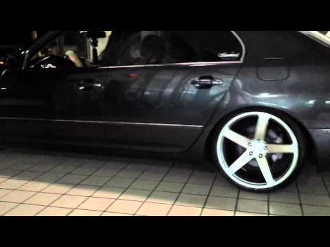 "2004 Lexus LS430 on 20"" Concavo Wheels Toyota Celsior"