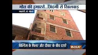 Police crack down on builders after series of building collapse in Delhi, Greater Noida