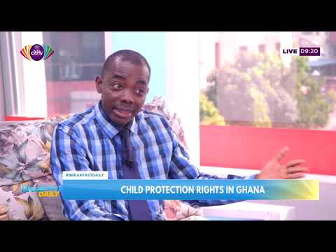 Child protection rights in Ghana | Breakfast Daily