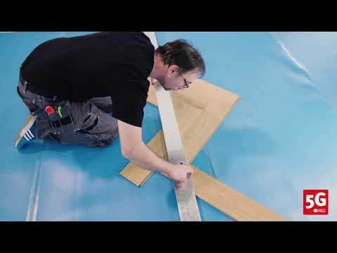 Hướng dẫn lắp đặt sàn gỗ Xương Cá BerryAlloc