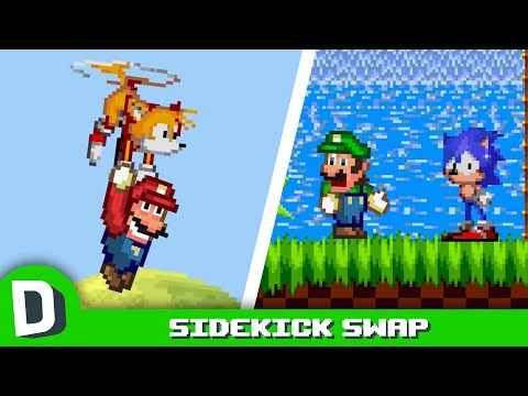 Kdyby si Mario a Sonic vyměnili parťáky - Dorkly Bits