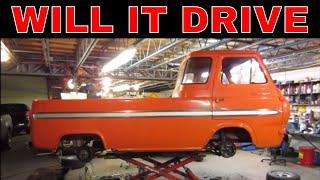 Ratty 1965 Ford Econoline,  Making It Stop Then Making it Go