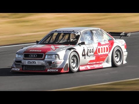 Widebody Audi 80 B4 Competition Turbo Race Car in action on the Nürburgring GP!