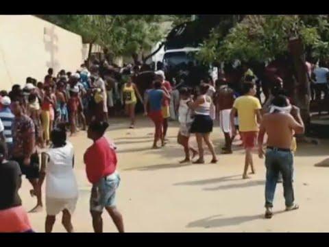 Familias saquearon un colegio donde habían más de 300 mercados para los más vulnerables