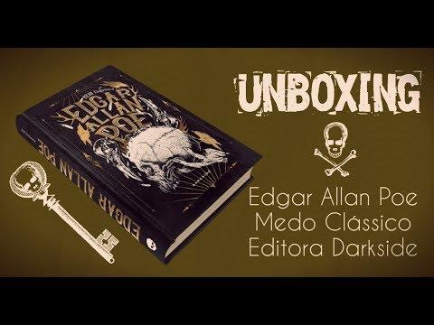 Unboxing de Edgar Allan Poe : Medo Clássico, da Editora Darkside