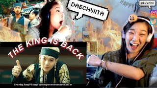 AGUST D '대취타' MV SISTERS REACTION | D-2 IS HERE THE KING IS BACK