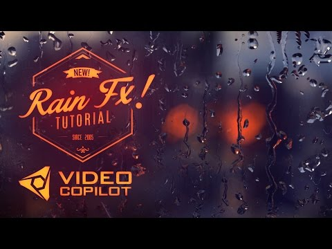 Realistic Rain Drop FX Tutorial! 100% After Effects!
